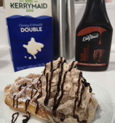 Kerrymaid Double Choc Creamy Topping
